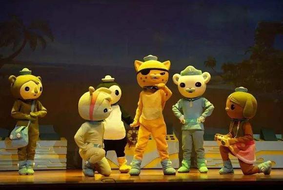 英国BBC大型互动式多媒体儿童剧《海底小纵队之惊涛骇浪》