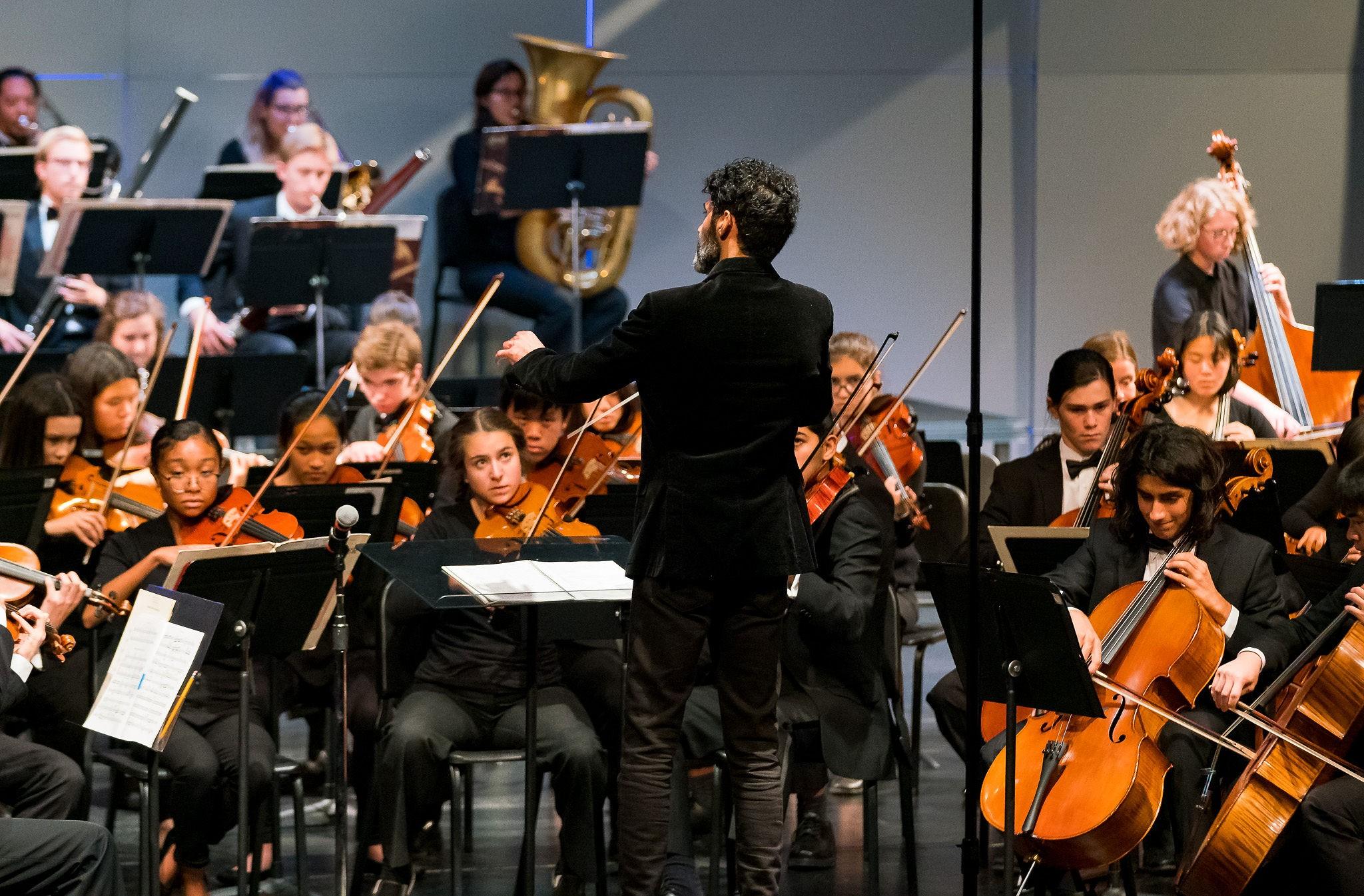 测试  美国奥克兰青年交响乐团音乐会