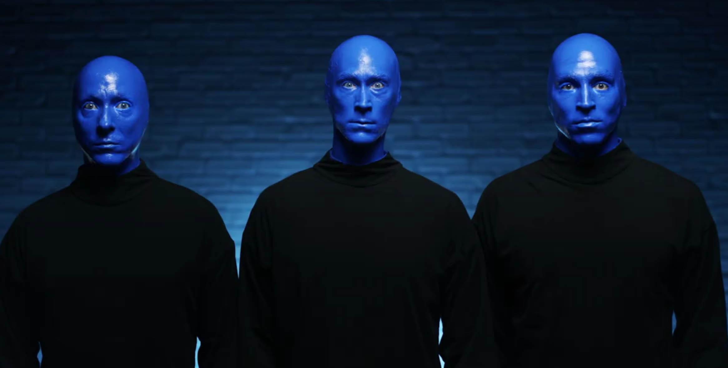 《藍人秀》