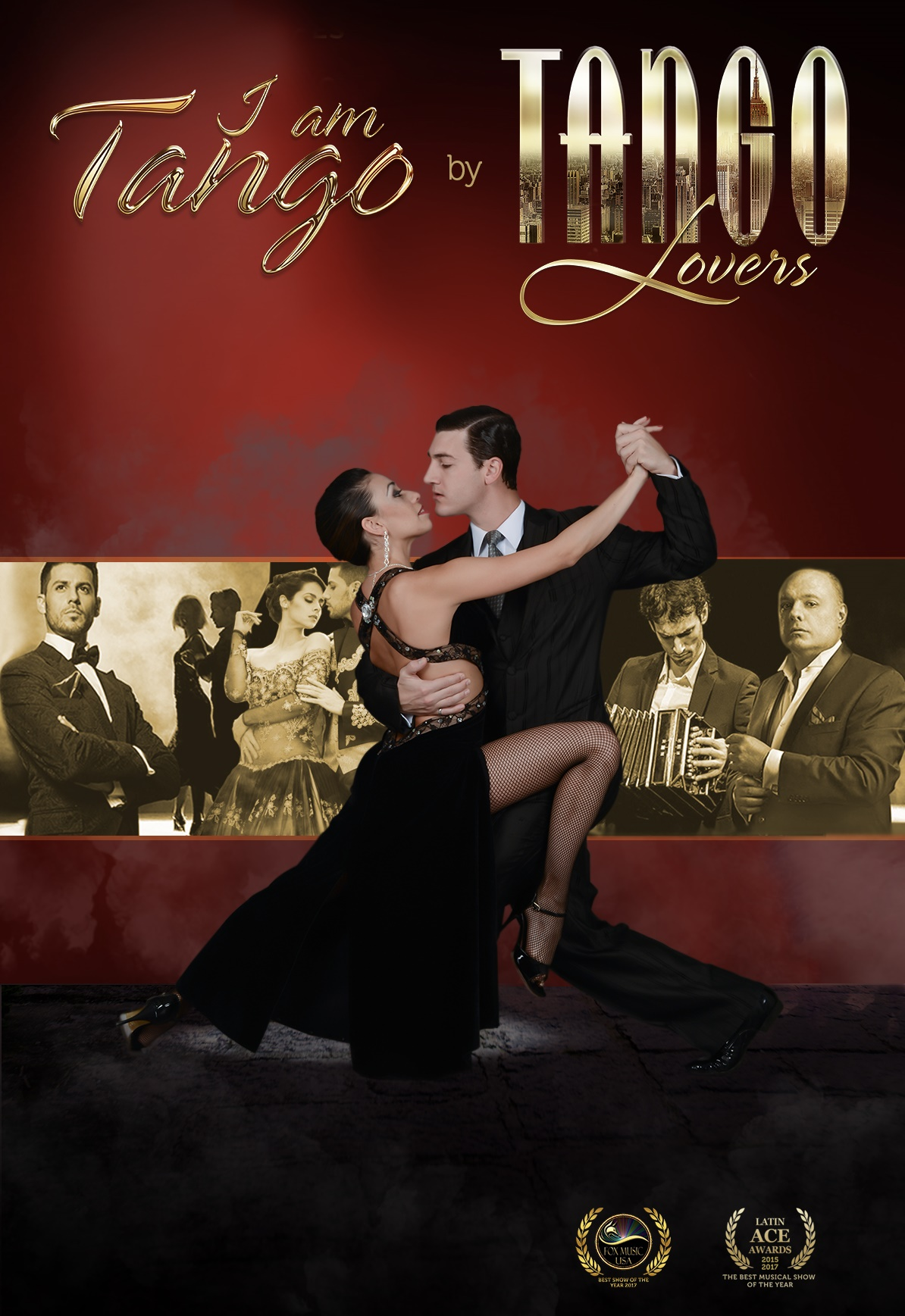 "【The Second Xi'an International Dance Festival】 ""I AM TANGO"" by Tango Lovers From Uruguay"
